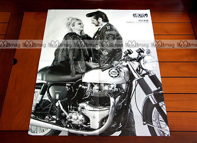 BSA 650 ROCKET GOLD STAR GOLDSTAR - Poster MOTO #PM009