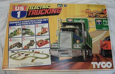 Tyco US 1 Electric Trucking 5 Action Stadions Autorennbahn neuwertig OVP #663