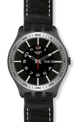 Swatch Irony New Big C.U.Black YTB700 Neuware
