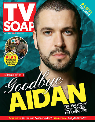 TV Soap Magazine MAY 2018: SHAYNE WARD - Goodbye Aidan - Emma Atkins
