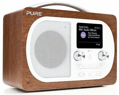 Pure Evoke H4 Digital-Radio DAB DAB+ UKW Küchen-Timer Bluetooth Display Wecker
