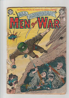 All-American Men of War #127 (#1) G (1952, DC) scarce