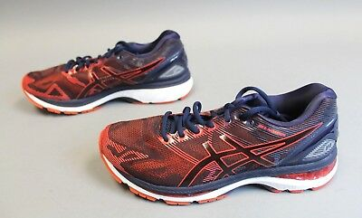 check out a8519 f58b1 ASICS MEN'S GEL-NIMBUS 19 Running Shoes TW4 Peacoat/Red Clay T700N-5806  Size 8.5