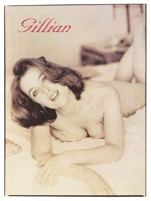 GILLIAN ANDERSON ~ ON BED ~ 24x32 PINUP POSTER ~ TV X-Files Agent Dana Scully
