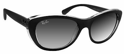 412b0570df5b2 Ray Ban RB4227 60528G matte black frame dark grey 55mm lens sunglasses new