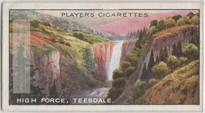 High Force Waterfall Teesdale County Durham England 100+ Y/O Trade Ad Card