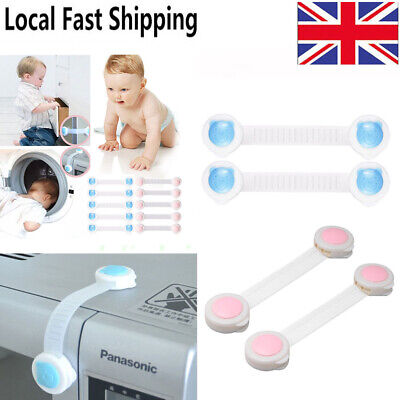 Kids Baby Child Door Drawer Fridge Kitchen Toliet Cabinet Cupboard Safety Lock