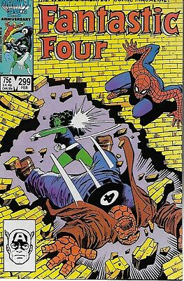Fantastic Four (Vol.1) No.299 / 1987 Spider-Man / Roger Stern & John Buscema