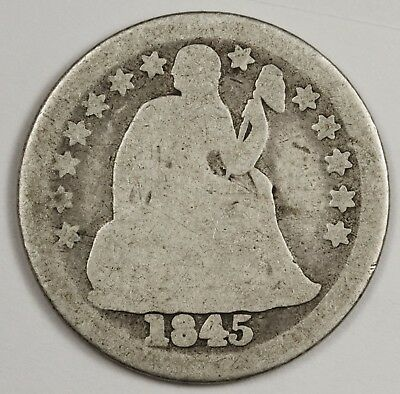 1845 Liberty Seated Dime.  Good.  119418