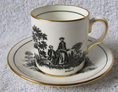 Royal Chelsea English Bone China Made In England Demitasse Mini Cup And Saucer