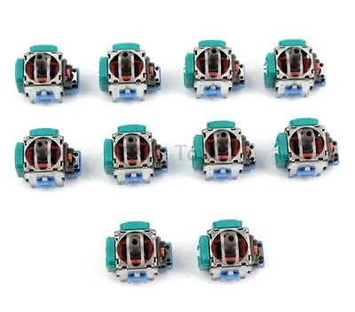 10pcs Analog Stick Joystick Replacement for XBox One PS4 Dualshock 4 Controller