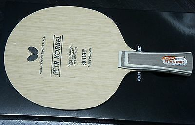 BUTTERFLY PETR KORBEL Blade Table Tennis Racket Flared FL Handle ... 12868abda77d5