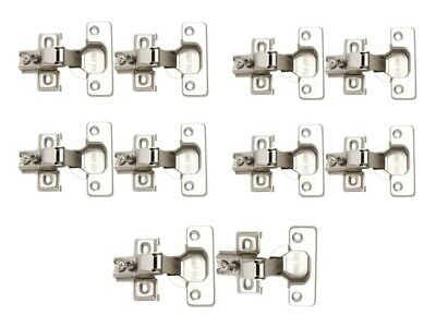 Woodstock D3139 105-Degree Face Frame Hinge-Overlay-10 Hinges