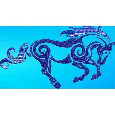 Large Embroidered Zippered Tote - Tribal Horse S1-09