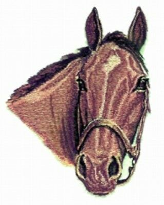 Large Embroidered Zippered Tote - Mare Horse BT2718