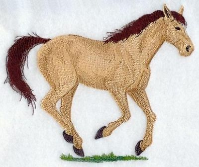 Large Embroidered Zippered Tote - Quarter Horse A9062