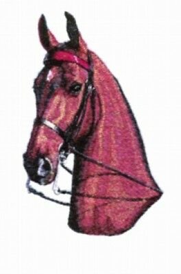 Large Embroidered Zippered Tote - Horse Head BT3996