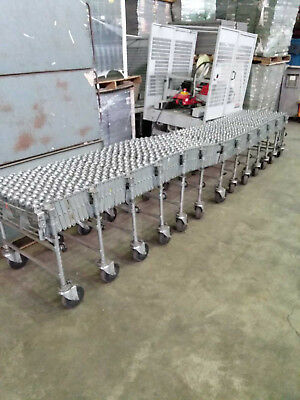 "NestaFlex Conveyor 24""W Expands to 34'L"