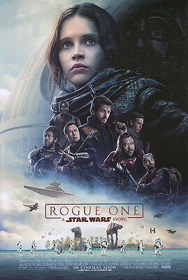 Rogue One A Star Wars Story  - original DS movie poster 27x40 D/S INTL Final