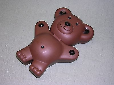 Teddy Grahams Snack Box, Dark Brown  Color, Original 1999 Issue (dated)