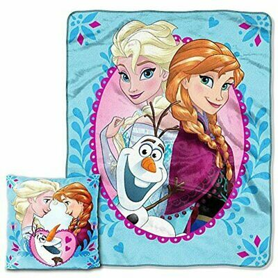 "Disney's Frozen ""Nordic Family"" Pillow & Throw Set - by The Northwest Company"