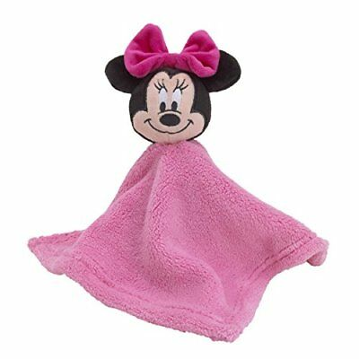 Disney Minnie Mouse Plush Security Blanket, Pink