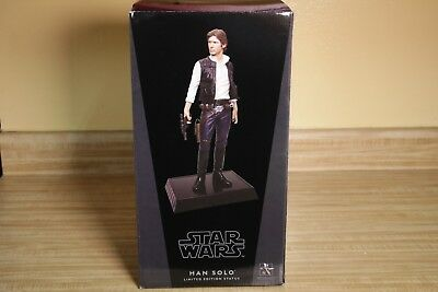 """Star Wars Han Solo Gentle Giant 1/6 12""""  Limited Edition Statue Sculpture"""