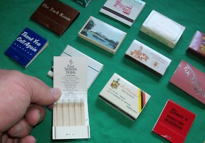 Vtg Los Chavates Matchbook Matches Hotel Cancun Hard Rock West Point Nugget Tack