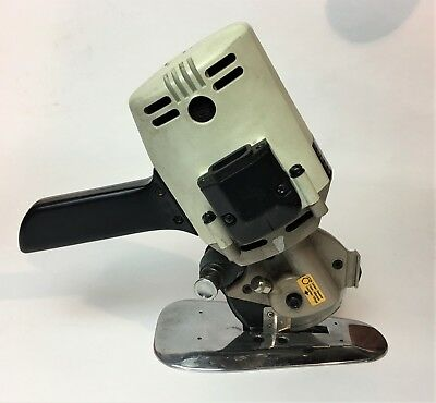 SULEE RC-280 Round Knife Cloth and Fabric Cutting Machine 4 Inch Blade USED