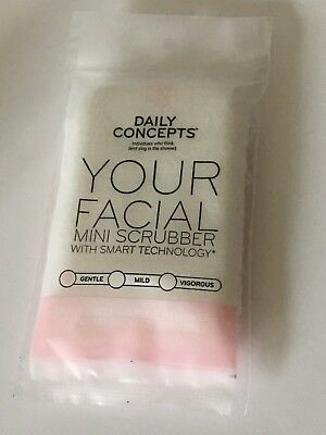 Daily Concepts Your Facial Mini Scrubber w/ Smart Technology Gentle