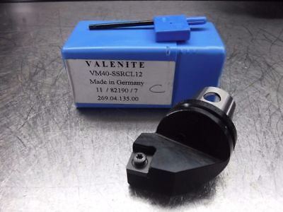Valenite VM / KM 40 Indexable Turning Head VM40 SSRCL12 (LOC543A)