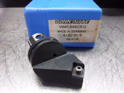 Valenite VM / KM 40 Indexable Turning Head VM40 SSSCR12 (LOC542)