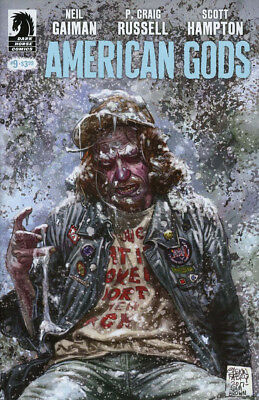 American Gods Shadows #9 (NM)`17 Gaiman/ Russell/ Hampton (Cover A)