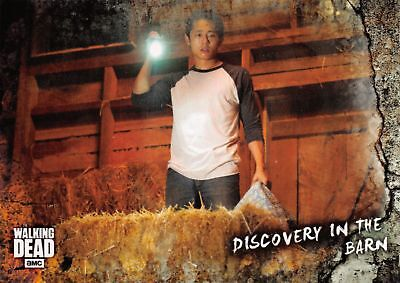 Walking Dead Road To Alexandria BASE Trading Card #23 / DISCOVERY IN THE BARN