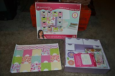 AMERICAN GIRL Crafts Create Craft Bulletin Board 175 pc set NEW