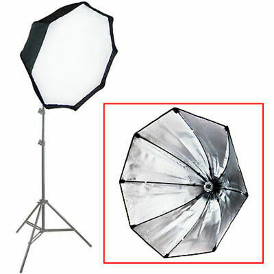 26Inch Octagonal SoftBox with US Standard E26 Socket for Photo Strobe Studio