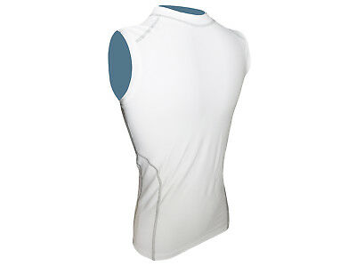 Compression Top Mens White Sleeveless X-Large Only MEN-133