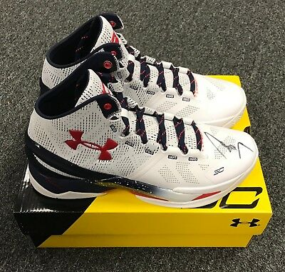 2bae08933b31b STEPHEN CURRY SIGNED Pair of Under Armour Shoes Sz 10 Autograph JSA LOA  Warriors