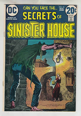Secrets Of Sinister House #10 Vf 8