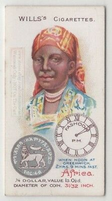 Sudan Woman 1900 Clothing  Fashions Coin Fashoda 100+ Y/O Trade Ad Card