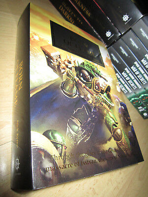 SIGNED Nick Kyme BORN OF FLAME 1st/HB MINT Warhammer 40K Horus Heresy 50