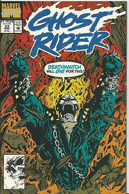 Ghost Rider #23 (2Nd Series)  (Marvel)  1990 (Nm-)