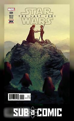STAR WARS LAST JEDI ADAPTATION #1 (MARVEL 2018 1st Print) COMIC