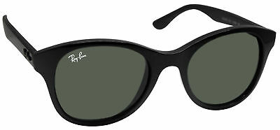 15b2b7663f6d9 RAY BAN RB4203 601 black frame crystal green 51mm lens sunglasses ...