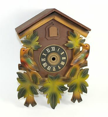 GERMAN CUCKOO CLOCK CASE for PARTS or RE-PURPOSE - BIRD HOUSE - SM182