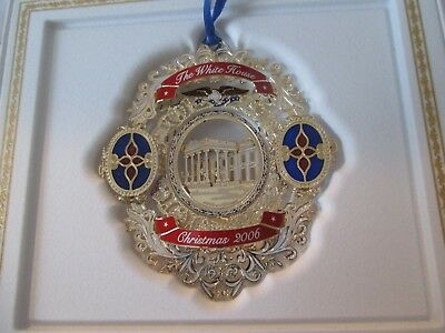 2006 White House Historical Association Christmas Ornament Chester A Arthur