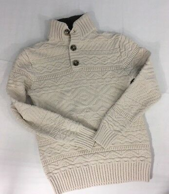 16dbf504839a BOYS CAT   Jack Chunky Cable Knit pullover sweater size 8 10 ...