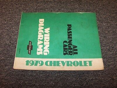 1979 chevy camaro factory electrical wiring diagram manual z28 berlinetta  v6 v8