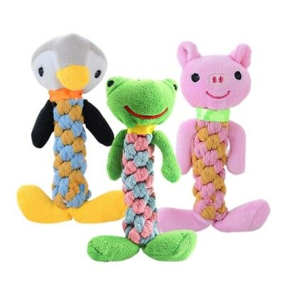 For Dog Cat Toy Play Funny Pet Puppy Chew Squeaker Squeaky Plush Sound Toys New
