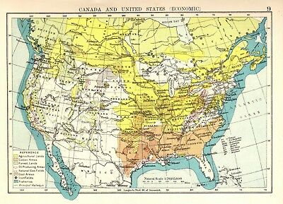 1874 ANTIQUE MAP - THE UNITED STATES AND TERRITORIES, CANADA &c ...